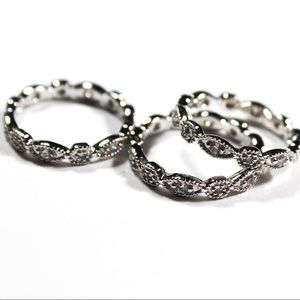 Stella & Dot Size 7 Stackable Deco Rings